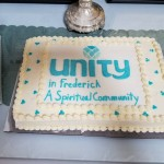 dedication cake - Unity in Frederick