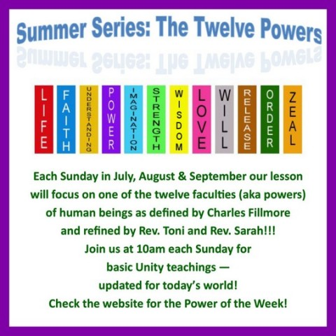 12 Powers, Sunday Services 10:00